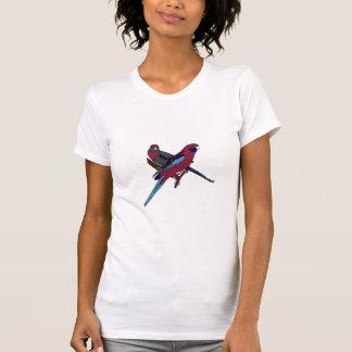 Rosellas carmesí camisetas