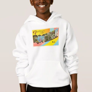 Roselle New Jersey NJ Old Vintage Travel Postcard- Hoodie