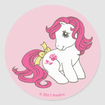 Roseluck | Everyone Loves A Pony Classic Round Sticker