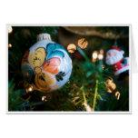 Rosemaling Christmas Card (blank inside)
