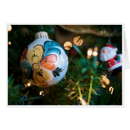Rosemaling Christmas Card (Hoping your...)