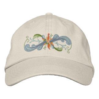 Rosemaling Embroidered Baseball Hat