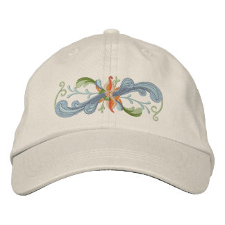 Rosemaling Embroidered Hats