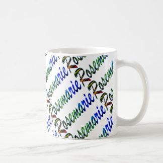 Rosemarie Classic White Coffee Mug