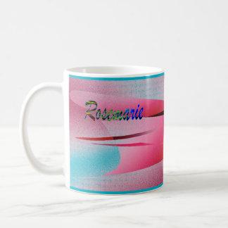 Rosemarie Pink Customized Coffee Mug