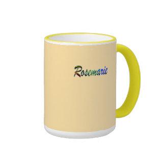 Rosemarie tea mug