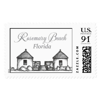 Rosemary Beach Florida Beach Huts Postage