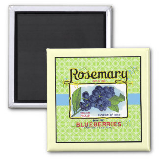 Rosemary Blueberry Magnet