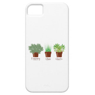 Rosemary Chives Glantro iPhone 5 Cover