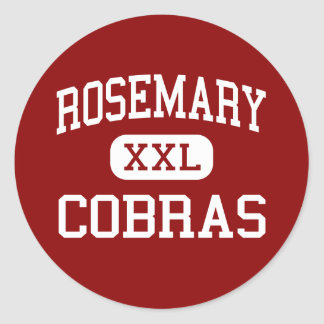 Rosemary - Cobras - Middle - Andrews Classic Round Sticker