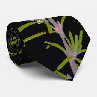Rosemary en la floración corbatas personalizadas