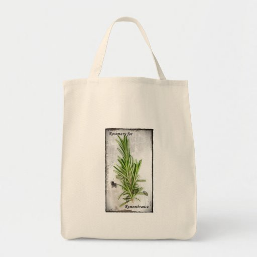 Rosemary Grocery Tote Bag