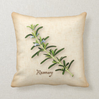 Rosemary Herb Throw Pillow