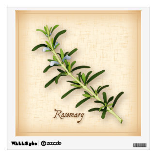 Rosemary Herb Wall Sticker