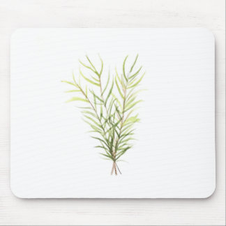 Rosemary herbs mouse pad