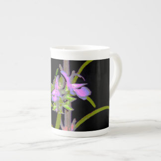 Rosemary in Bloom Tea Cup