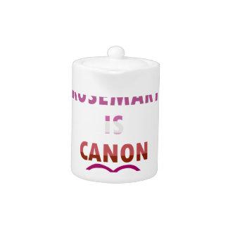 Rosemary Is Canon (v2) Teapot