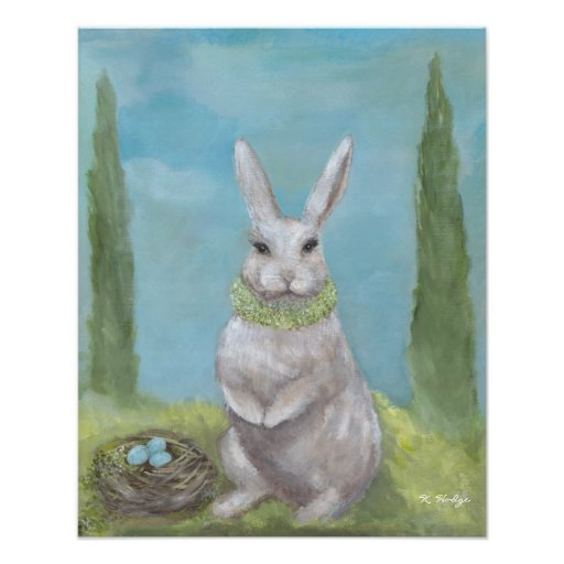 Rosemary Rabbit - Print