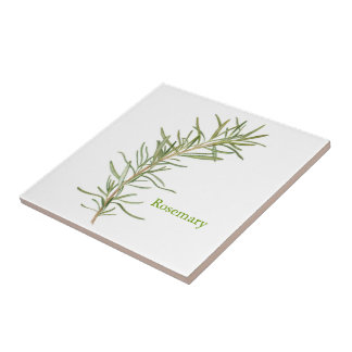 Rosemary - Small Ceramic Tile