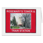 ROSEMARY'S TOWER & TRAIN STATION CARDS