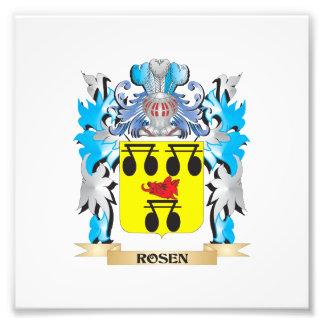 Rosen Coat of Arms - Family Crest Art Photo