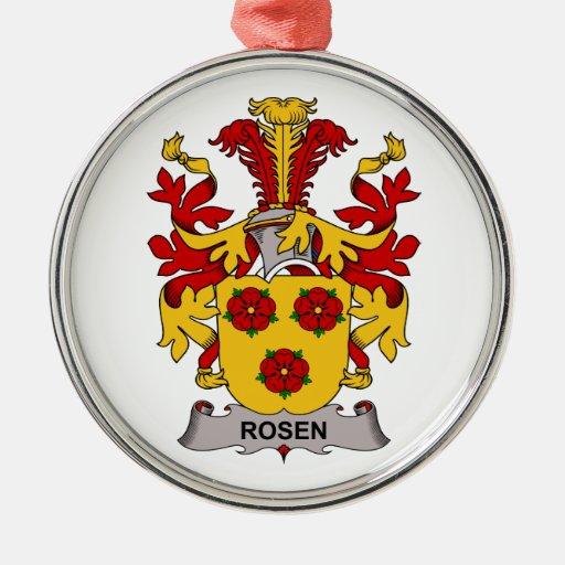 Rosen Family Crest Ornaments