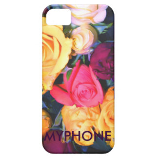 "rosen gelb rosa lila weiss ""myphone"" iPhone hülle iPhone SE/5/5s Case"