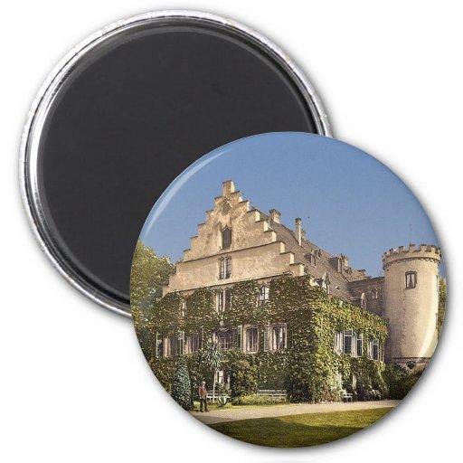 Rosenau Castle, Thuringia, Germany Magnets