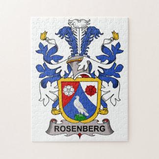 Rosenberg Family Crest Jigsaw Puzzle