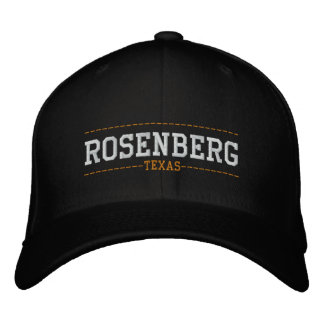 Rosenberg Texas USA Embroidered Hats