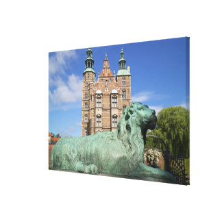 Rosenborg Palace, Copenhagen, Denmark Canvas Print