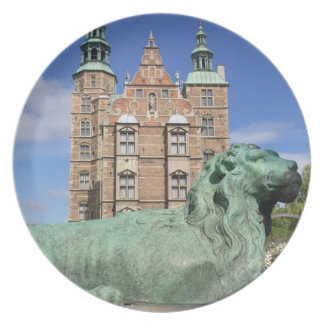 Rosenborg Palace, Copenhagen, Denmark Melamine Plate