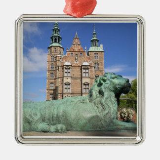 Rosenborg Palace, Copenhagen, Denmark Metal Ornament