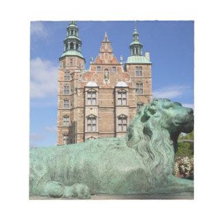 Rosenborg Palace, Copenhagen, Denmark Notepad
