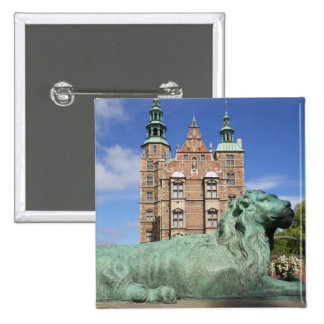 Rosenborg Palace, Copenhagen, Denmark Pinback Button