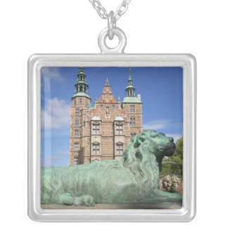 Rosenborg Palace, Copenhagen, Denmark Silver Plated Necklace