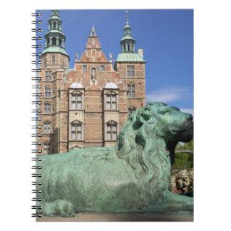 Rosenborg Palace, Copenhagen, Denmark Spiral Notebook