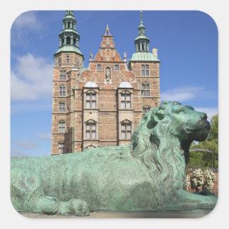 Rosenborg Palace, Copenhagen, Denmark Square Sticker