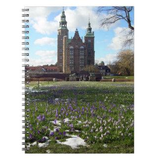 Rosenborg Slot Spiral Notebook