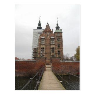 Rosenborg Slott / Castle Copenhagen Denmark Postcard