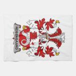 Rosengaard Family Crest Hand Towels
