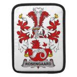 Rosengaard Family Crest iPad Sleeves