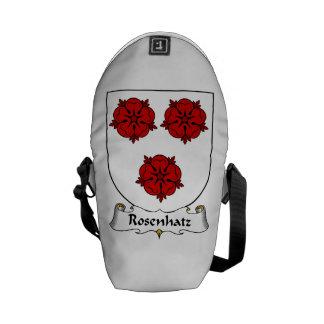 Rosenhatz Family Crest Messenger Bag