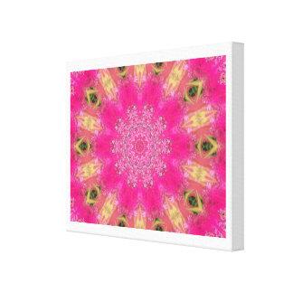 Roseous Blooms Canvas Prints