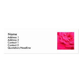 rosepetals mini business card