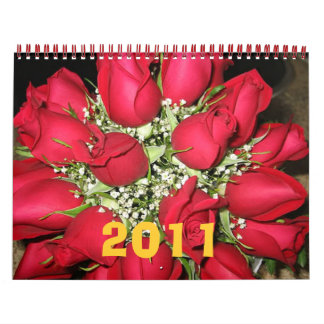 roses2011 calendar