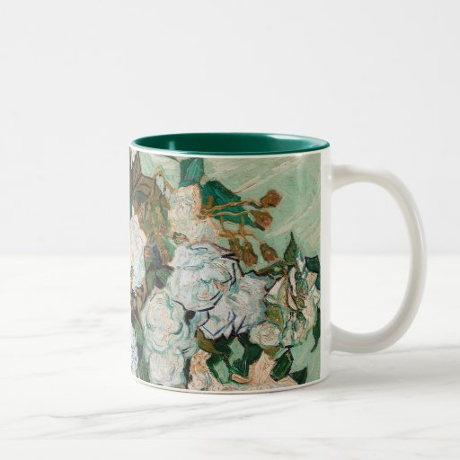 Roses, 1890 (oil on canvas) mug