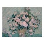 roses-1890-vincent blanco Van Gogh Postales