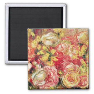 Roses, 1915 2 inch square magnet