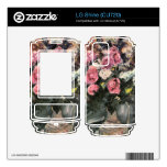 Roses 1 by Lovis Corinth Decals For LG Shine